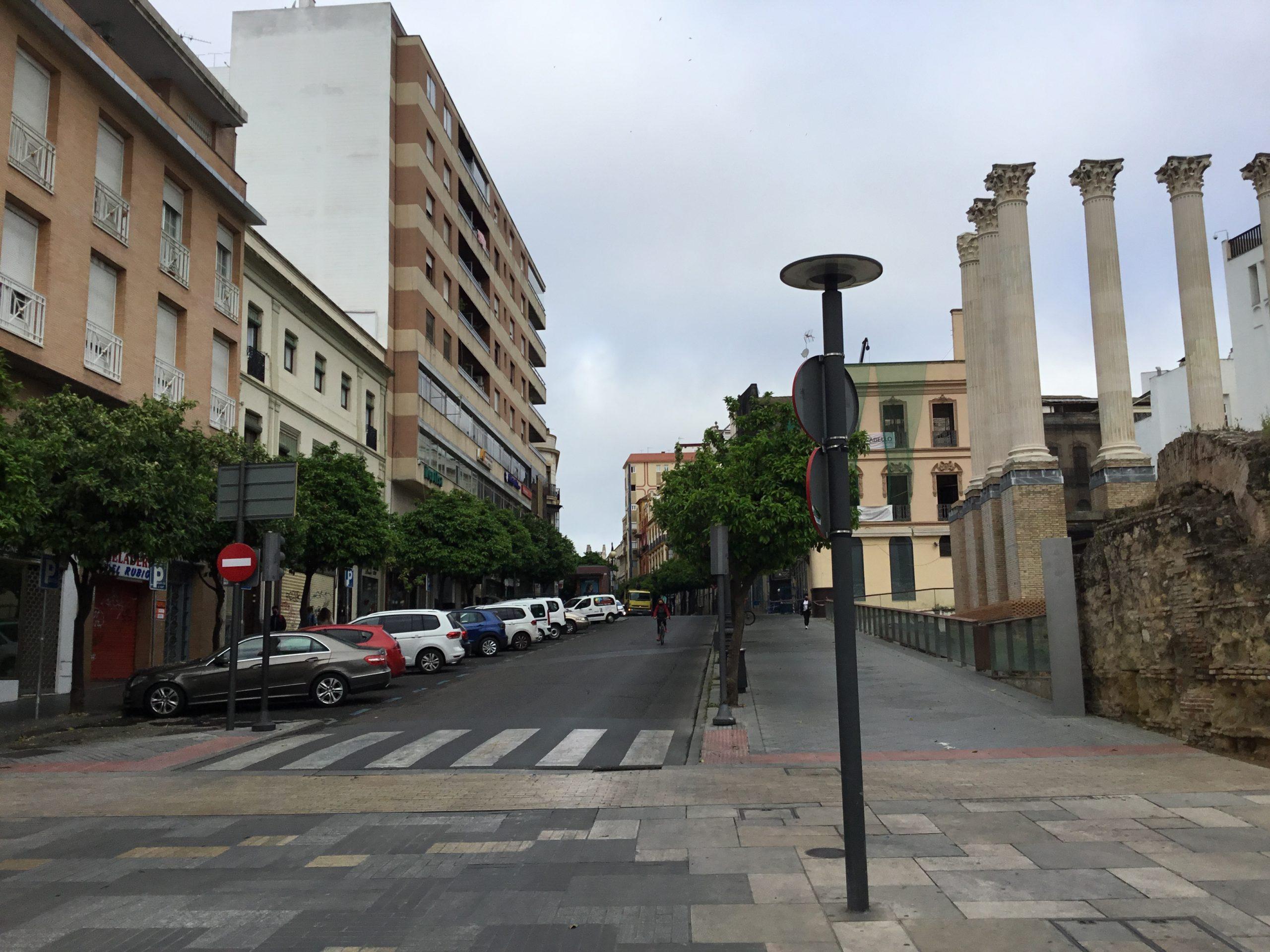 Calle Claudio Marcelo dirección Tendillas
